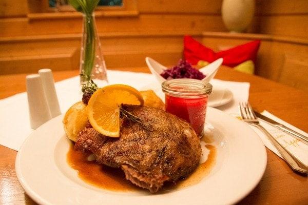 Martinigans essen Wien