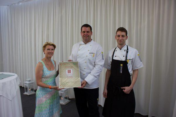 Zwei neue Auszeichnungen für das Chadim Küchenteam