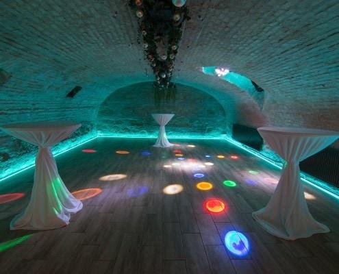 Tanzen im Gewölbe